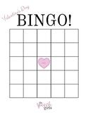Valentine's Day Bingo Cards