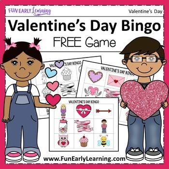 Valentine's Day Bingo - FREE!