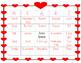 Valentine's Day - Bingo - Games - Valentines - Fun - First Grade - Sight words