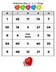 Valentine's Day Bingo - Greatest Common Factor & Least Common Multiple