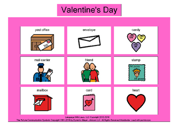 Valentine's Day Bingo! Multiple Boards [speech therapy and autism]
