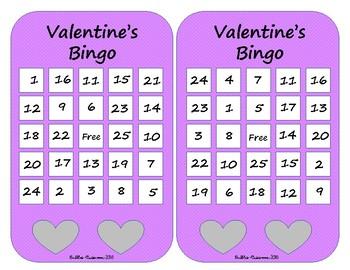 Valentine's Day Bingo- SIMPLE