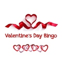 Valentine's Day Bingo and Matching Games