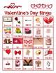 Valentine's Day Bingo and Matching Games