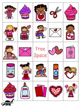 Valentine's Day Bingo for Speech and Language Therapy