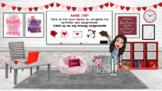 Valentine's Day Bitmoji Virtual Classroom