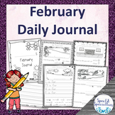 Valentine's Day, Black History Journal Writing for Special Education (February)