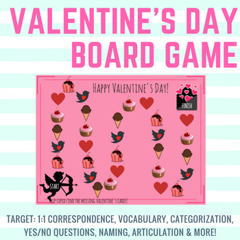 Valentine's Day Board Game