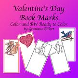 Valentine's Day Book Marks