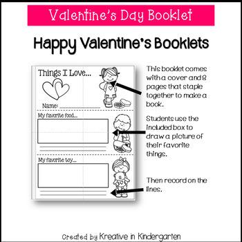 Valentine's Day Booklet