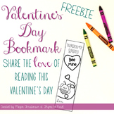 Valentine's Day Bookmark {FREEBIE}