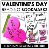 Valentine's Day Bookmark Freebie!
