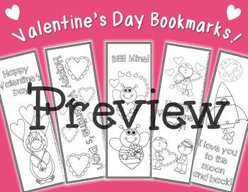 Valentine's Day Bookmarks!