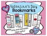 Valentine's Day Bookmarks - Class Gifts