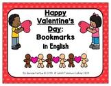 Valentine's Day Activities in English (BUNDLE)