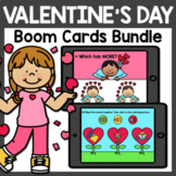 Valentine's Day Boom Cards Bundle | February Boom Cards Di