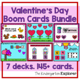 Valentine's Day Boom Cards - Math and ELA Bundle