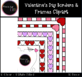 Valentine's Day Borders / Valentine's Day Frames / Valenti