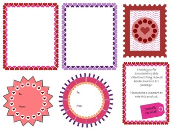 Valentine's Day Borders and Clip Art
