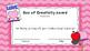 Valentine's Day Box Award Certificates