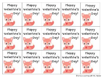 Valentine's Day Brag Tags