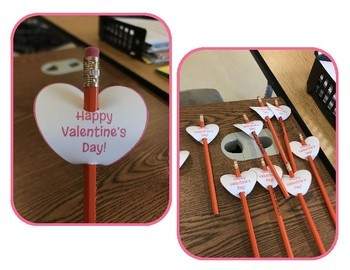 FREEBIE! Valentine's Day Pencil Toppers, Brag Tags - Printables!