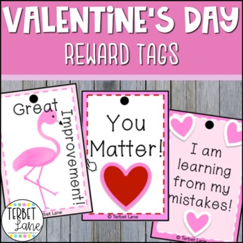 Valentine's Day Brag Tags: Fun & Easy Classroom Rewards & Motivation