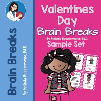Valentine's Day Brain Break:  SAMPLE SET