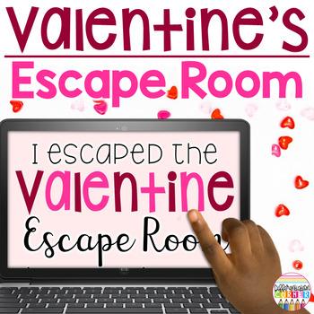 Valentine's Day Breakout Activity