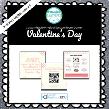 Valentine's Day Breakout Game (Content Below)