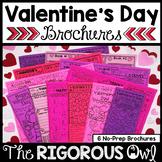Valentine's Day Brochure Tri-folds