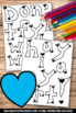 Valentine's Day Bulletin Board Activities, Spring Craftivity SPS