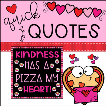 Valentine's Day Bulletin Board   EDITABLE Kindness Pizza Cut-Outs   Door Decor