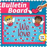 Valentine's Day Bulletin Board Idea and Valentines Door De