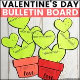 Valentine's Day Bulletin Board | February Bulletin Board | Cactus Bulletin Board