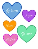 Valentine's Day Bulletin Board/Ways to Say I Love You