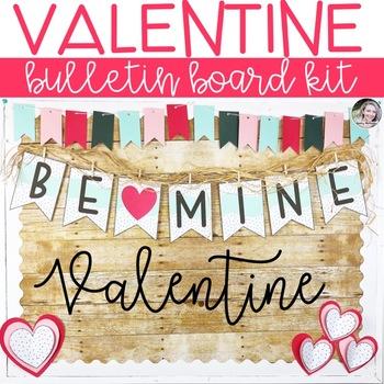 Valentine's Day Bulletin Board or Door Kit