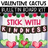 Valentine's Day Bulletin Board or Door Decor - Cactus Theme