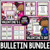 Valentine's Day Bulletin Bundle!  Music Terms, Composers, February, Rainbow