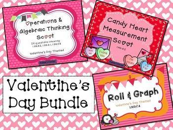 Valentine's Day Bundle-1st grade math