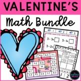 VALENTINE'S Math Activities Bundle