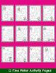 Valentine's Day Activities Bundle: Literacy, Math, & Craft Activity - Crowns