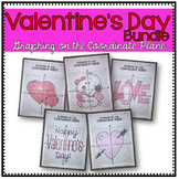 Valentine's Day Bundle (Graphing on the Coordinate Plane Mystery Pictures)