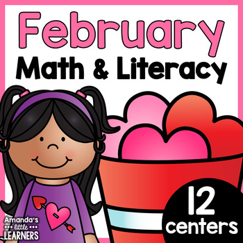 February Centers - Valentine's Day