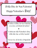 Valentine's Day Bundle Spanish class / Actividades de San