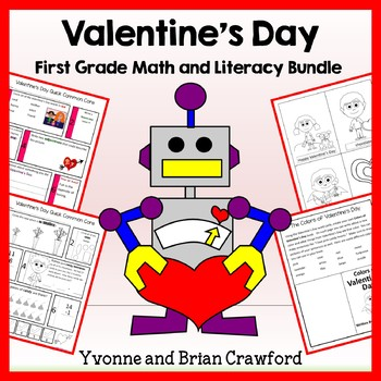 Valentine's Day Bundle for First Grade Endless