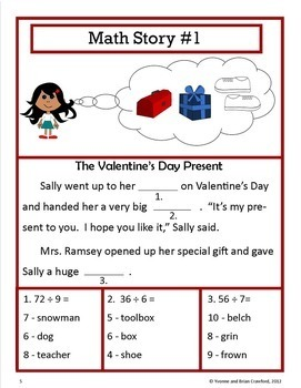 Valentine's Day Bundle for Fourth Grade Endless