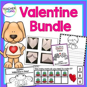 Valentine's Day Bundle for Kindergarten & First Grade