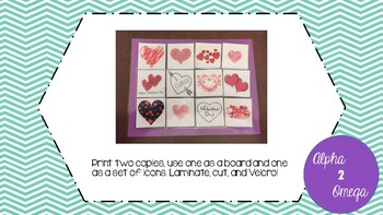 Valentine's Day Bundle for Life Skills and Autism Classroom