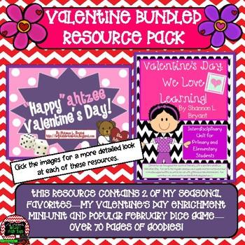 Valentine's Day Bundled Resource Pack